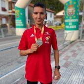 Houssame Benabbou, subcampeón de España de Medio Maratón