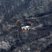 Vista general del incendio de Sierra Bermeja