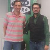 Antonio Lucas y Javier Barbero