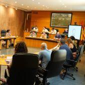 Reunión del grupo parlamentario de Podemos