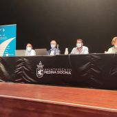 Instantánea de la reunión celebrada hoy en el Ayuntamiento de Medina Sidonia