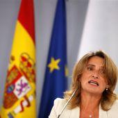 La vicepresidenta tercera, Teresa Ribera