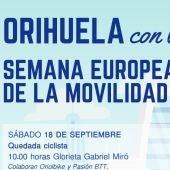 Las concejalías de Medio Ambiente y Transportes organizan diferentes actividades con motivo de la Semana Europea de la Movilidad