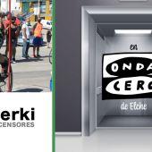 La Unión Ciclista Ilicitana, protagonista de la sección 'Sube con Ascensores Serki'.