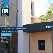 Fachada del Museo de Aguas de Alicante