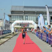 Diego Méntrida, triatleta