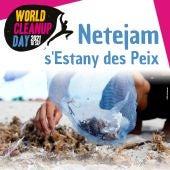 El World Clean Up day se celebra en Formentera con la limpieza de s'Estany des Peix