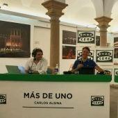 Rubén Amón y Rafa Latorre en 'Más de uno'