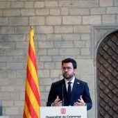 Pere Aragonès, presidente de la Generalitat