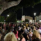 Ultravioletes reunió a cientos de personas en La Vila Joiosa para condenar la violencia machista