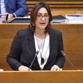 Rosa Pérez Garijo, consellera de Transparencia y coordinadora de Esquerra Unida.