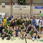 Alter Enersun CB Al-Qazeres logra la Copa de Extremadura de baloncesto femenino