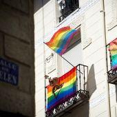 Imagen de archivo de una calle del centro de Madrid