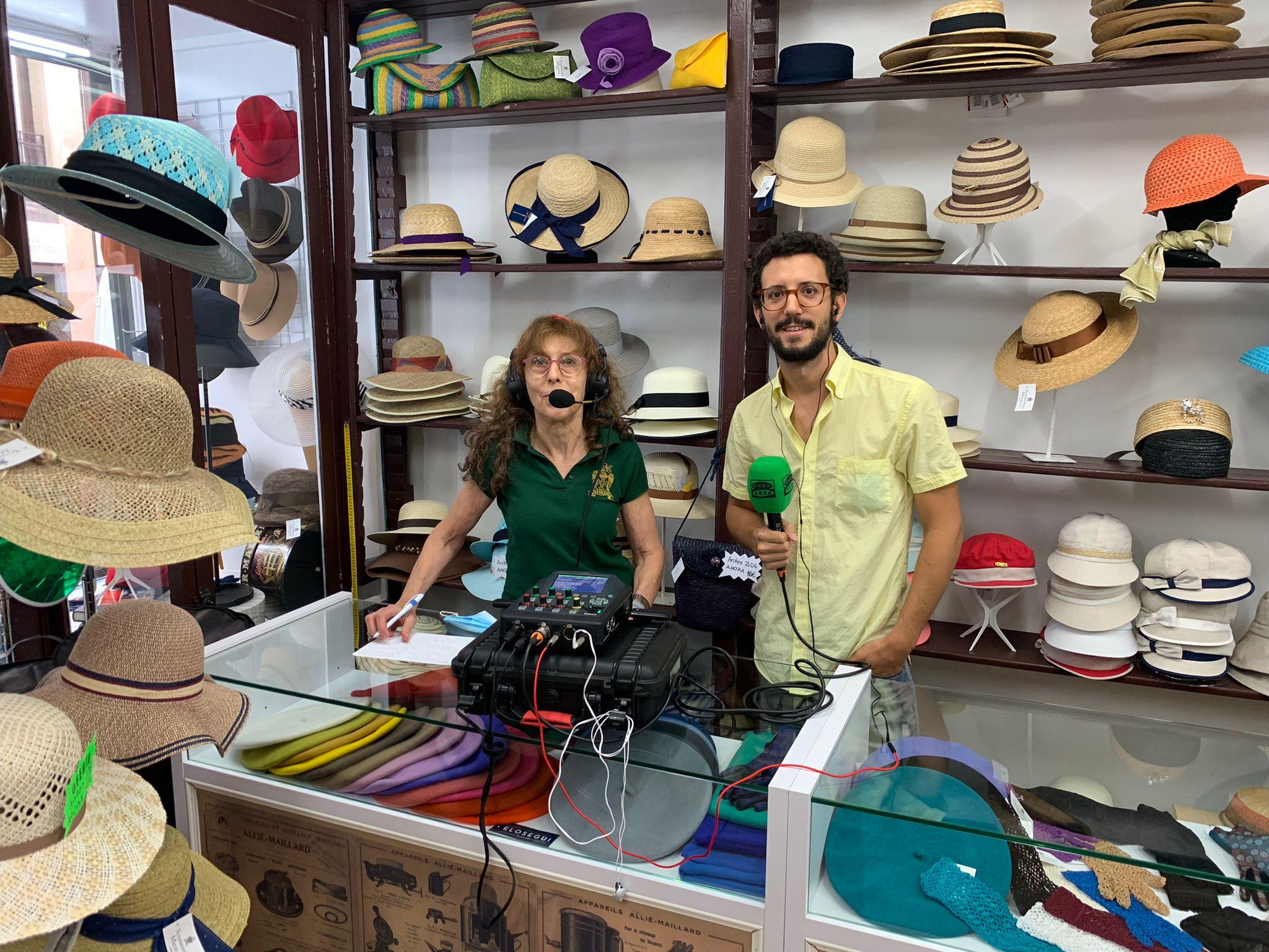 """Charo Iglesias, modista del sombrero: """"La liberación de la mujer influyó en el menor uso del sombrero"""""""