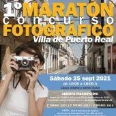 Cartel del Maratón Fotográfico Villa de Puerto Real