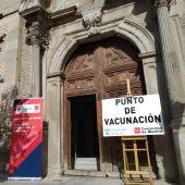 Punto de Vacunación en la Facultad de Derecho de la Universidad de Alcalá