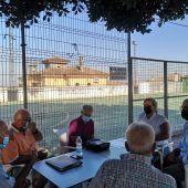 Reunión realizada hoy en El Marquesado