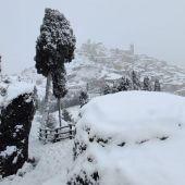 Teruel fue la provincia más afectada por las nevadas