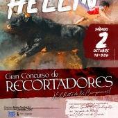 Hellín celebrará un concurso de recortadores goyesco el sábado 2 de octubre