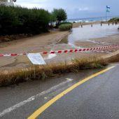 """Las precipitaciones dejan unos 22 litros con """"intensidad torrencial"""" en la zona del aeropuerto de Ibiza"""