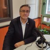Pablo González, presidente del PP de Gijón, en los estudios de Onda Cero