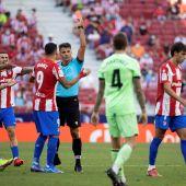 Dos partidos de sanción para Joao Félix por su expulsión ante el Athletic