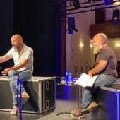 Cuartero y Gavira sobre las tablas del teatro
