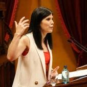 Marta Vilalta, en una intervenció al Parlament.