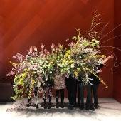 El colectivo Flor Motion realiza su tradicional guerrilla floral implicando a personas en riesgo de exclusión social