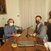Entrevista a Javier Rodríguez Palacios en el Ayuntamiento de Alcalá