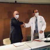 Acuerdo para fomentar la investigación en el centro hospitalario oscense