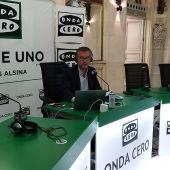 Carlos Alsina desde la Fundación BBVA en Bilbao