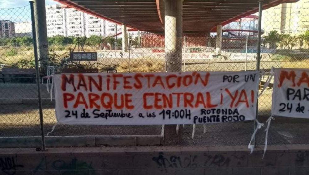 Manifestación Parque Central