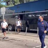 El Valencia rumbo a Sevilla