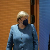 Merkel y Olaf Scholz