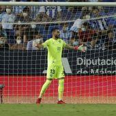 Dani Martín portero del Málaga CF