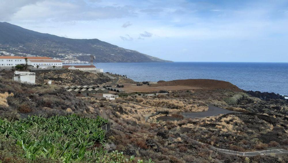 Acuartelamiento El Fuerte, en La Palma