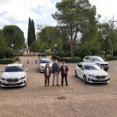 La UCLM ya dispone de cinco vehículos institucionales gracias a la colaboración público-privada con el Grupo Maor