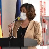 Eva María Crisol, portavoz del grupo municipal de Ciudadanos en Elche.