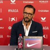 José Bordalás tras el partido ante el Sevilla