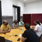 La reunión se desarrolló en un tono cordial y constructivo
