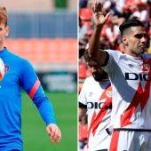 Griezmann versus Falcao