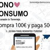 La campaña comenzará el 8 de octubre y finalizará el 15 de diciembre, pudiendo adquirir los Bono Consumo en la web