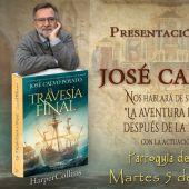 """El escritor José Calvo Poyato presenta su nueva novela """"La Travesía Final"""" en Mérida"""