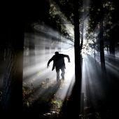 Un vampiro en un bosque