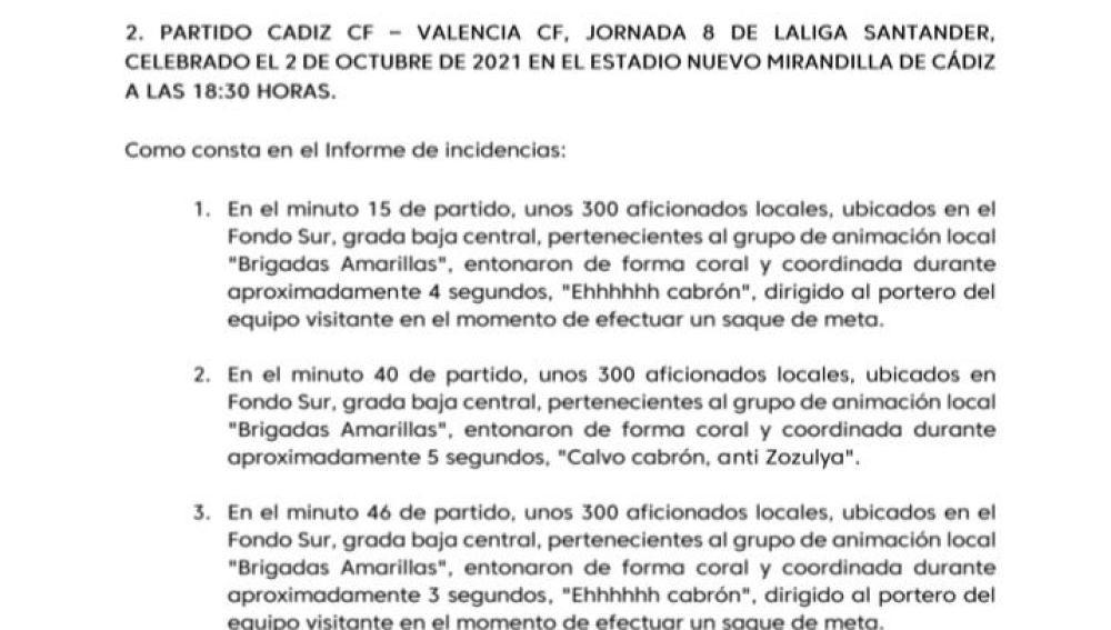 Denuncia LFP Nuevo Mirandilla