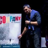 Antonio Banderas presenta su nuevo espectáculo, 'Company', en el Teatro del Soho