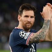 Leo Messi, con el PSG