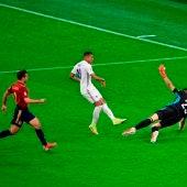 Mbappé marca el gol de la victoria para Francia ante España en la Liga de las Naciones