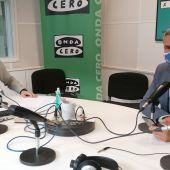 Pablo Zuloaga con Javier Barbero